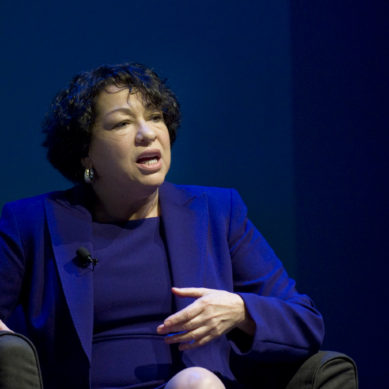 A Conversation with Justice Sotomayor