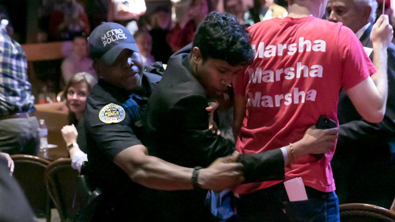 Vanderbilt Grad Student Arrested at Marsha Blackburn Rally Facing Criminal Charges