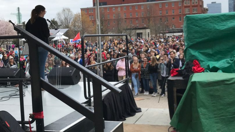 Speaker Phoebe Clements Revisits March for Our Lives