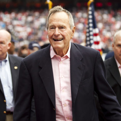 George H.W. Bush, 41st President and War Hero, Dies at 94