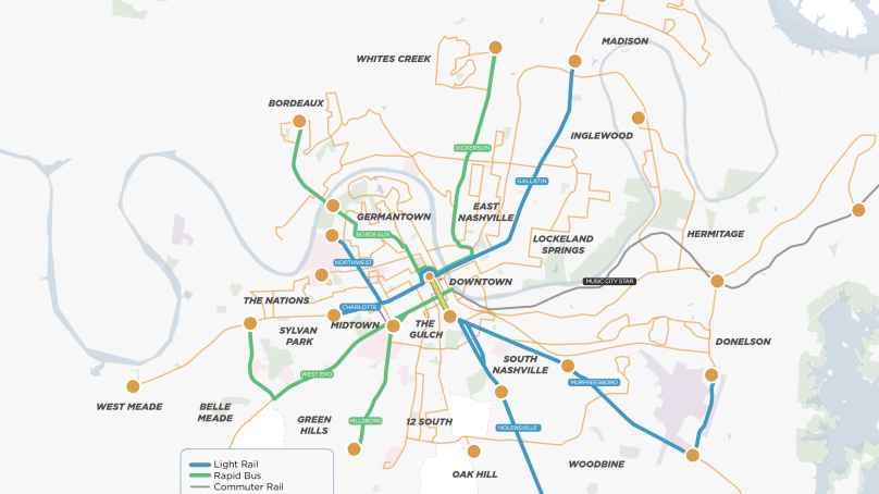 Vanderbilt Democrats Support Nashville Transit Overhaul