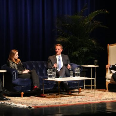 Former Senator Jeff Flake Calls for Stronger Leadership at Chancellor's Lecture Series