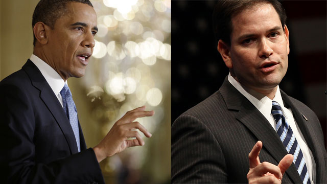 2008 Obama compared to 2016 Rubio