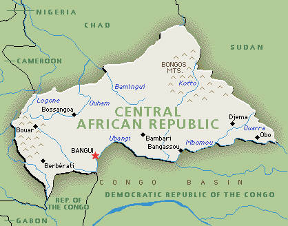Past the Water's Edge: Central African Republic