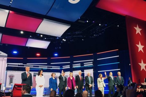 Your SparkNotes Guide to the Fifth Democratic Presidential Debate