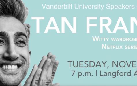 Tan France Visits Vanderbilt
