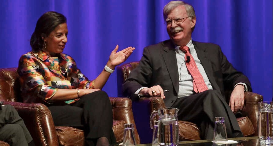 Speaking at Vanderbilt, John Bolton and Susan Rice Trade Barbs, Perspectives on Impeachment and America's Role in The World