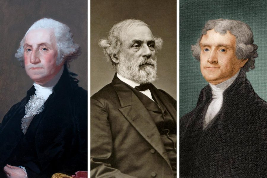from left: Gilbert Charles Stuart; via Library of Congress; via Getty Images (via New York Times, 2017)