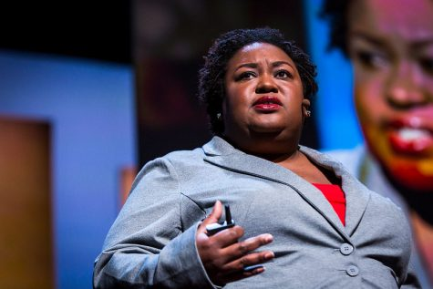 """Image Credit: """"Brittney Cooper at TEDWomen 2016"""" (unmodified) by Marla Aufmuth for TED Conference is licensed under CC BY-NC 2.0"""