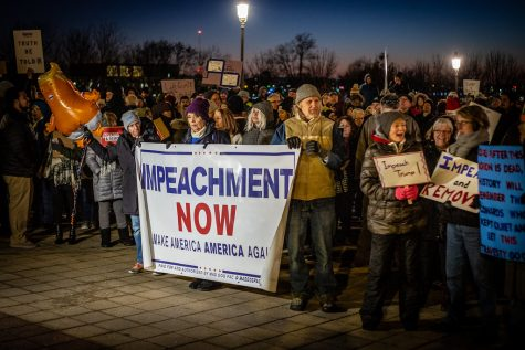 """Impeachment Rally"" by Phil Roeder"