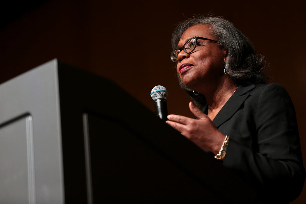 In The Wake Of Kavanaugh Hearing, Anita Hill Visits Campus With A Message Of Justice And Empowerment