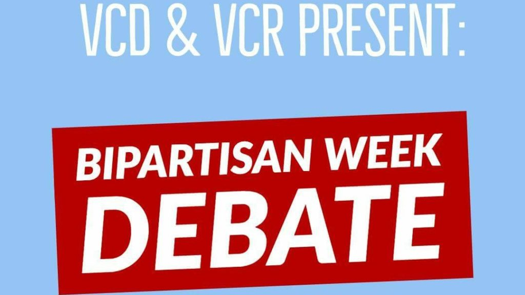 Debate+Brings+Bipartisan+Heat+to+Campus