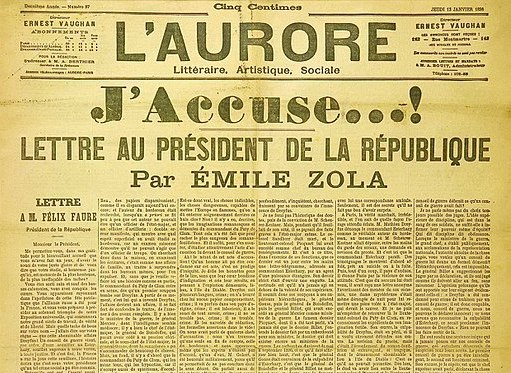 """J'Accuse..!"" - The Endless Recurrence of History"