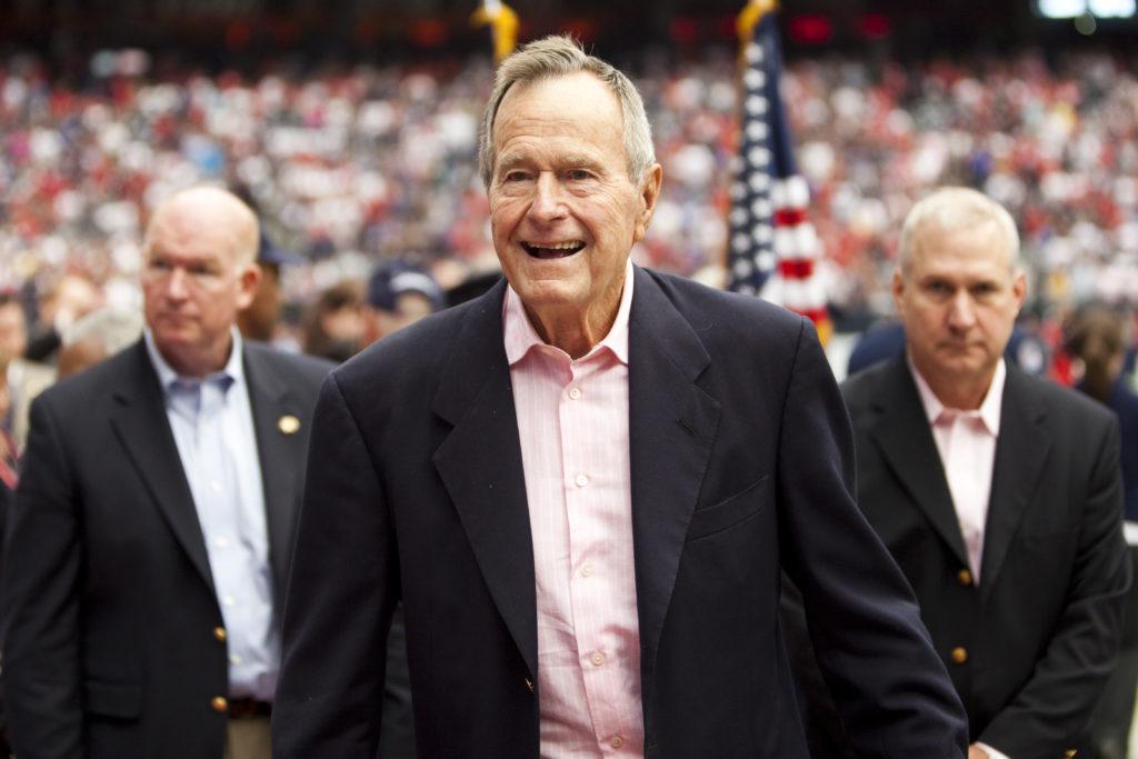 George H.W. Bush, 41st President and War Hero, Dies at 94