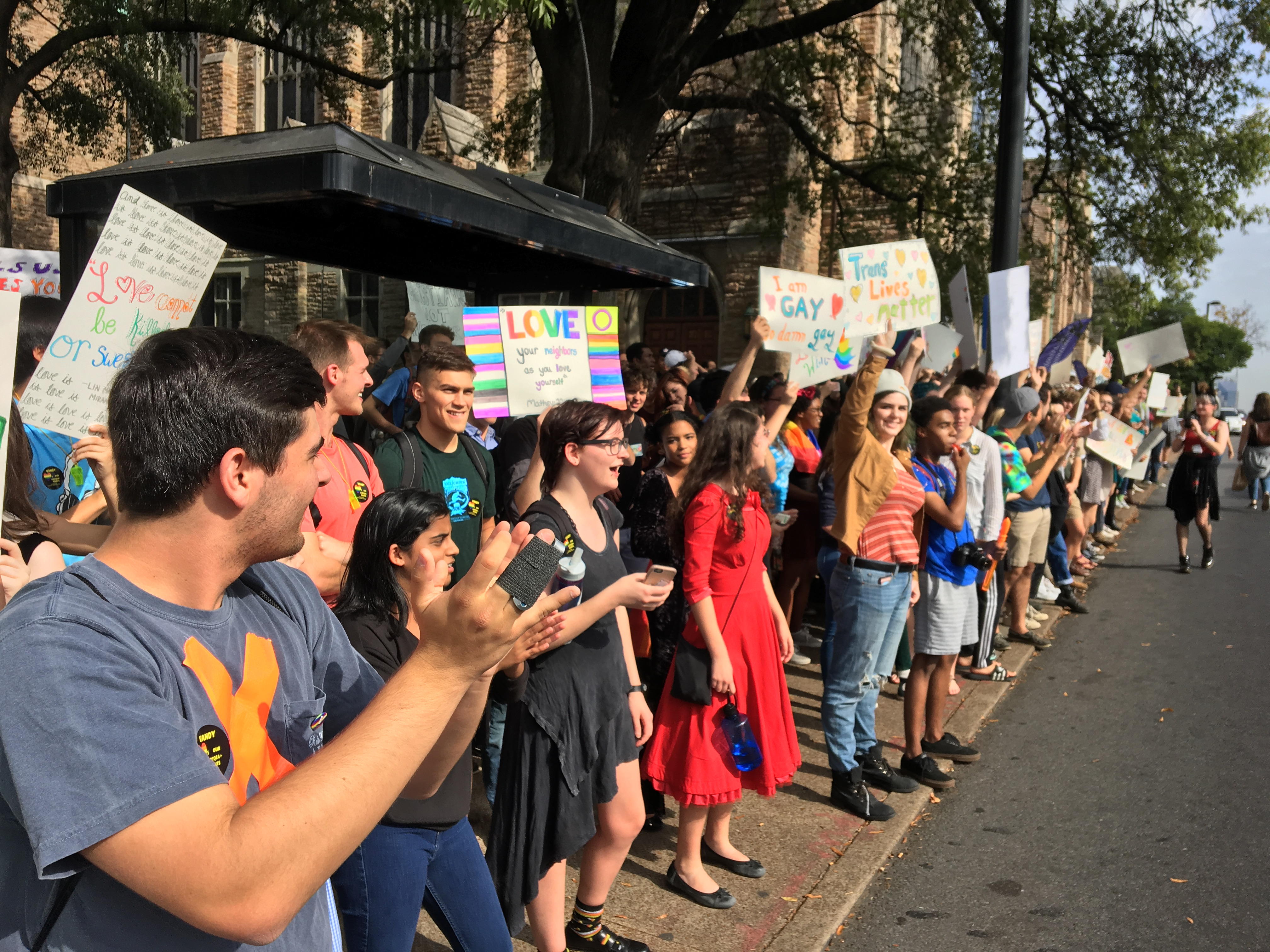 Westboro Baptist Dwarfed by Vanderbilt Counter-Protest