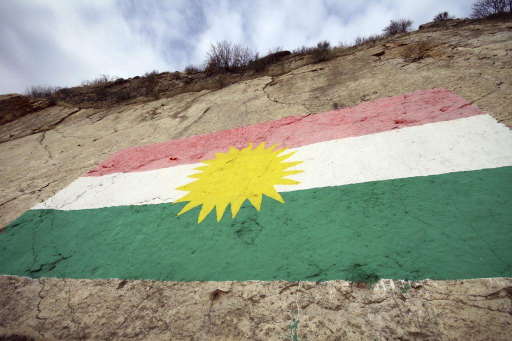 Flag of Kurdistan.