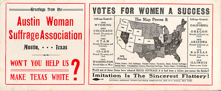 Struggles for Suffrage: Past, Present, and Future
